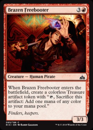 Brazen Freebooter | Rivals of Ixalan