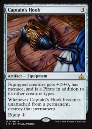 Captain's Hook | Rivals of Ixalan
