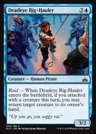 Deadeye Rig-Hauler | Rivals of Ixalan