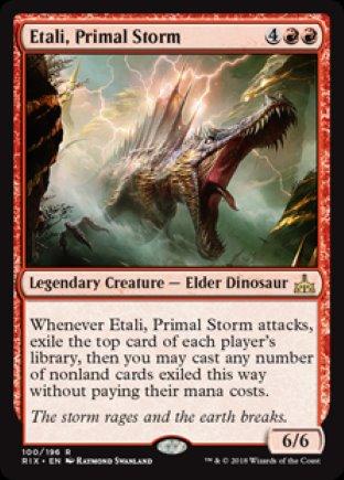 Etali, Primal Storm | Rivals of Ixalan