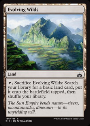 Evolving Wilds | Rivals of Ixalan