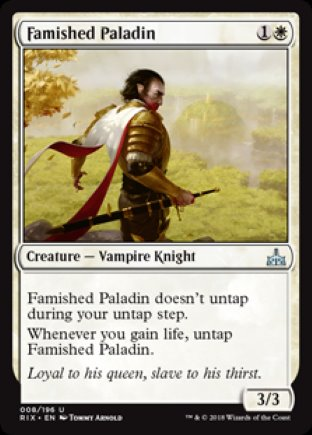 Famished Paladin | Rivals of Ixalan