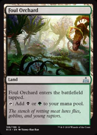 Foul Orchard | Rivals of Ixalan