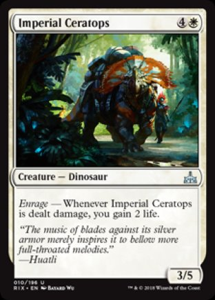Imperial Ceratops | Rivals of Ixalan