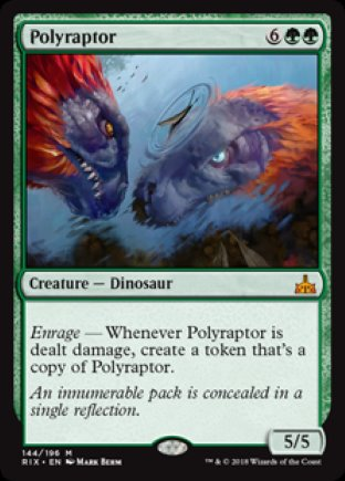 Polyraptor | Rivals of Ixalan