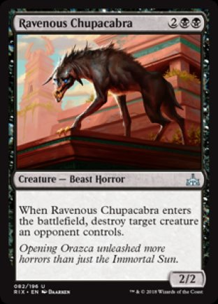 Ravenous Chupacabra | Rivals of Ixalan