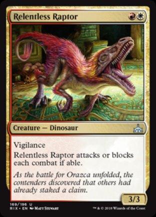 Relentless Raptor | Rivals of Ixalan
