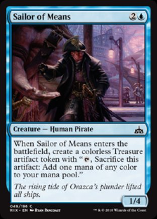 Sailor of Means | Rivals of Ixalan