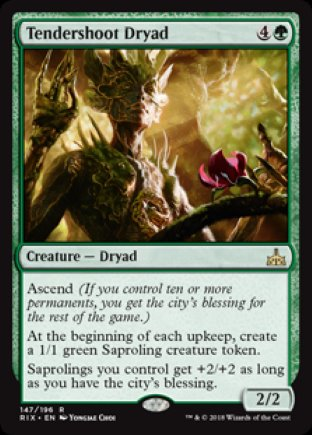 Tendershoot Dryad | Rivals of Ixalan