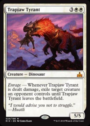 Trapjaw Tyrant | Rivals of Ixalan