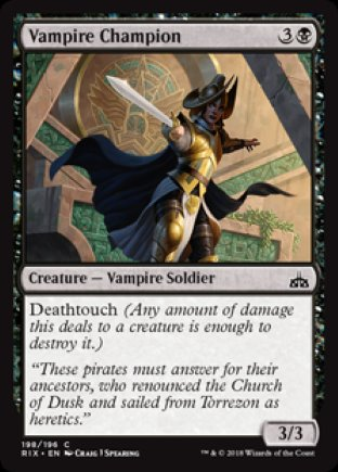 Vampire Champion | Rivals of Ixalan