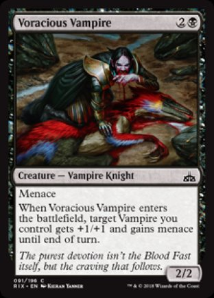 Voracious Vampire | Rivals of Ixalan