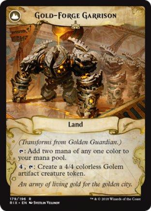 Golden Guardian | Rivals of Ixalan