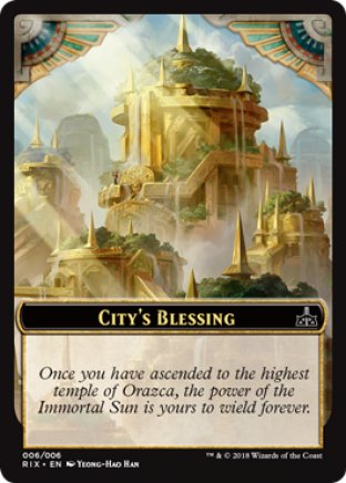 City's Blessing token | Rivals of Ixalan