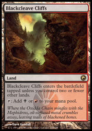 Blackcleave Cliffs | Scars of Mirrodin
