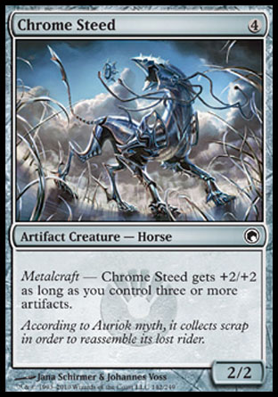 Chrome Steed | Scars of Mirrodin