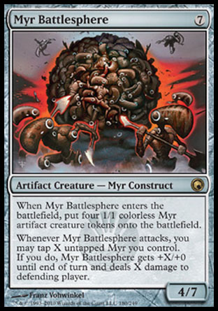 Myr Battlesphere | Scars of Mirrodin