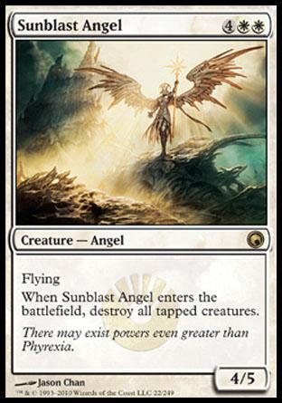 Sunblast Angel | Scars of Mirrodin