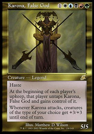 Karona, False God | Scourge