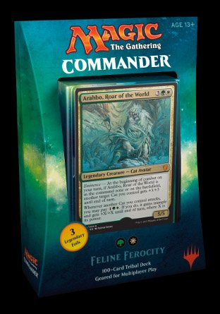 -C17- Commander 2017 set van 4 decks | Sealed product