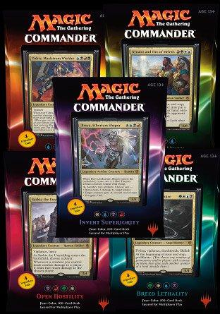 -C16- Commander 2016 set van 5 decks | Sealed product