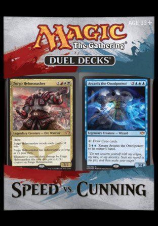 -DDN- Duel Deck Speed vs Cunning | Sealed product