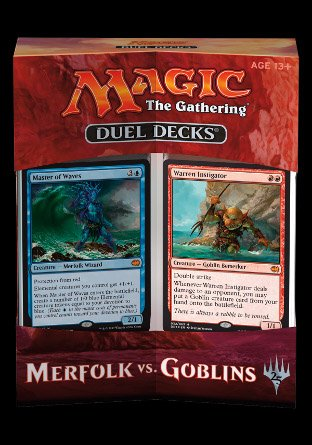 -DDT- Duel Deck Merfolk vs Goblins | Sealed product