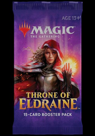 -ELD- Throne of Eldraine Booster   Sealed product