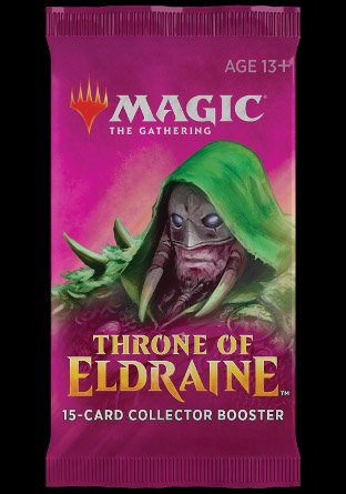 -ELD- Throne of Eldraine Collector Booster | Sealed product