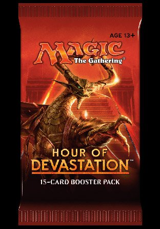 -HOU- Hour of Devastation Booster | Sealed product