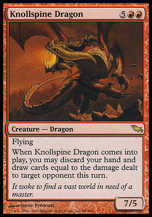 Knollspine Dragon | Shadowmoor