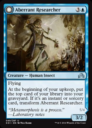 Aberrant Researcher | Shadows over Innistrad