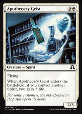Apothecary Geist | Shadows over Innistrad