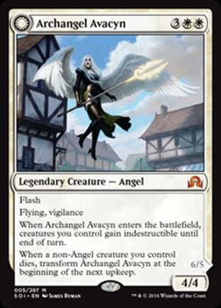 Archangel Avacyn | Shadows over Innistrad