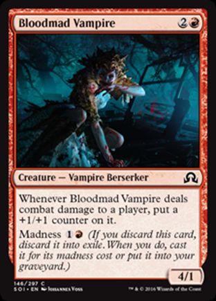 Bloodmad Vampire   Shadows over Innistrad