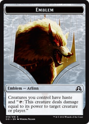 Arlinn Kord emblem | Shadows over Innistrad