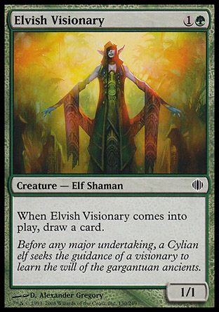 Elvish Visionary | Shards of Alara