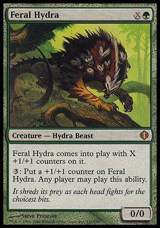 Feral Hydra | Shards of Alara