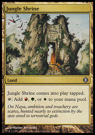 Jungle Shrine | Shards of Alara