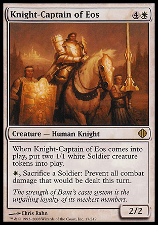 Knight-Captain of Eos | Shards of Alara
