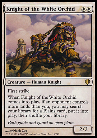 Knight of the White Orchid | Shards of Alara