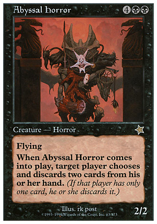 Abyssal Horror | Starter 1999