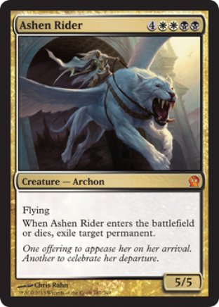 Ashen Rider   Theros