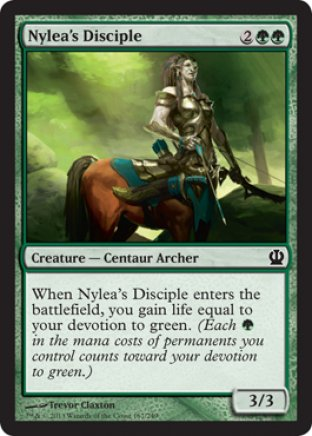 Nyleas Disciple Theros