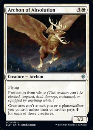 Archon of Absolution   Throne of Eldraine