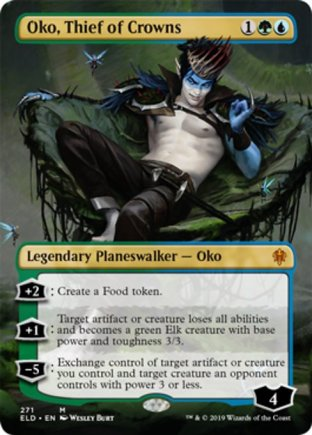 Oko, Thief of Crowns | Throne of Eldraine