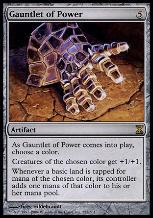 Gauntlet of Power | Time Spiral