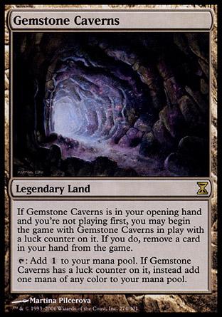 Gemstone Caverns | Time Spiral