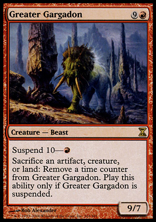 Greater Gargadon | Time Spiral