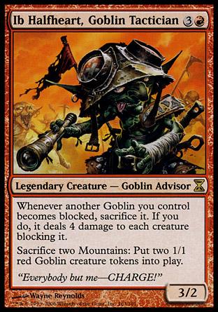 Ib Halfheart, Goblin Tactician | Time Spiral